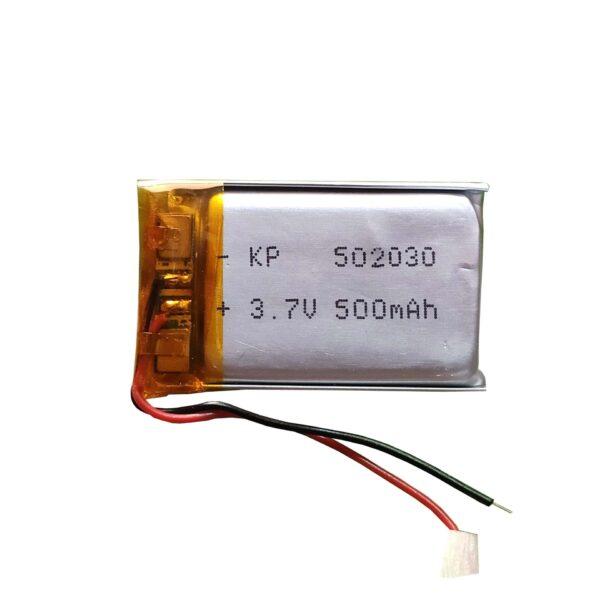Lipo Rechargeable Battery-3.7V/500mAH-KP-502030 Model