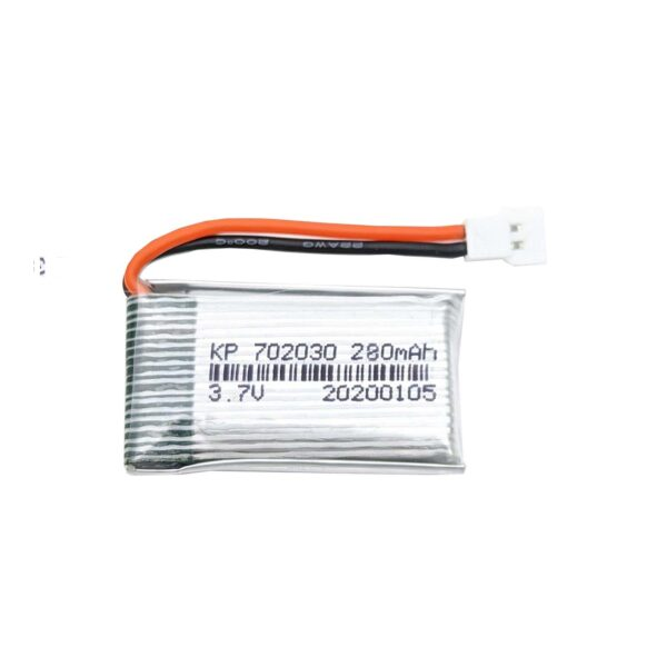 Lipo Rechargeable Battery-3.7V/280mAH-Model KP-702030-For RC Drone