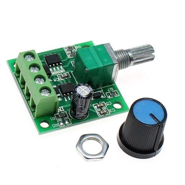 1.8V–12V/2A DC Motor PWM Speed Regulator