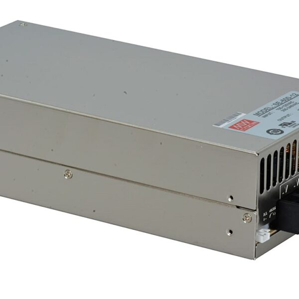 SE-600-12 Mean Well SMPS - 12V 50A - 600W Metal Power Supply