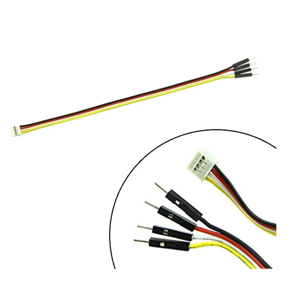 SeeedStudio Grove 4 pin Male Jumper to Grove 4 pin Conversion Cable 20cm_Sharvielectronics