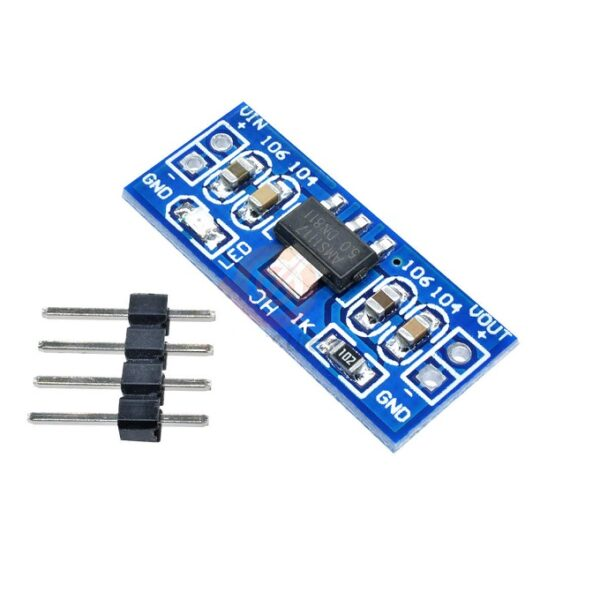 AMS1117 5V Step-Down Power Supply Module_Sharvielectronics