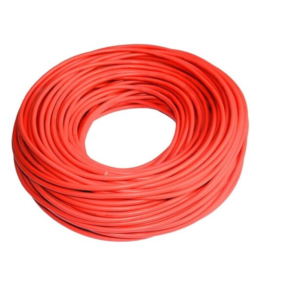 Multistrand Wire-Red-5 Meters (7 Strands Red Wire) Sharvielectronics