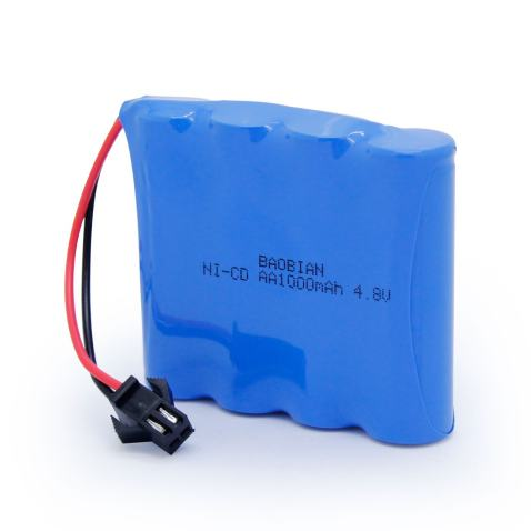 4.8V 700mAh Rechargeable Battery Pack-Sharvielectronics