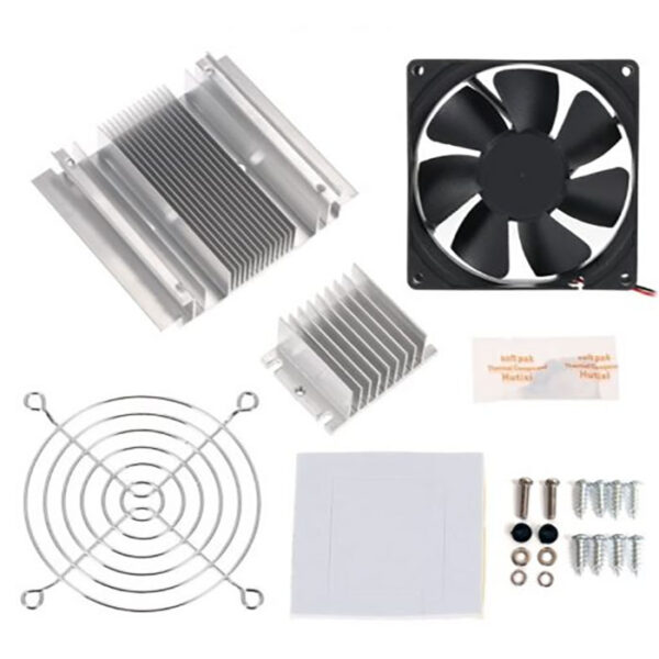 Refrigeration Thermoelectric Peltier Cooling System DIY Kit Sahrvielectronics