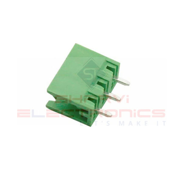 3 Pin Straight PCB Mount Male Terminal Block Connector 5.08mm Pitch-Sharvielectronics