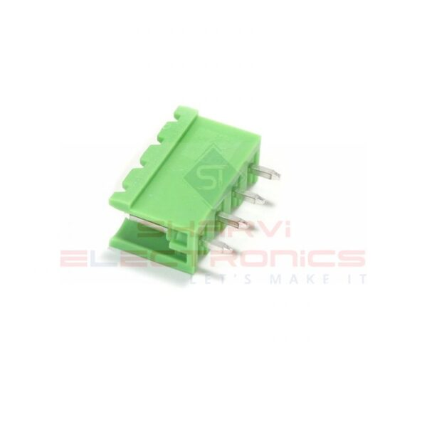 4 Pin Straight PCB Mount Male Terminal Block Connector 5.08mm Pitch-Sharvielectronics