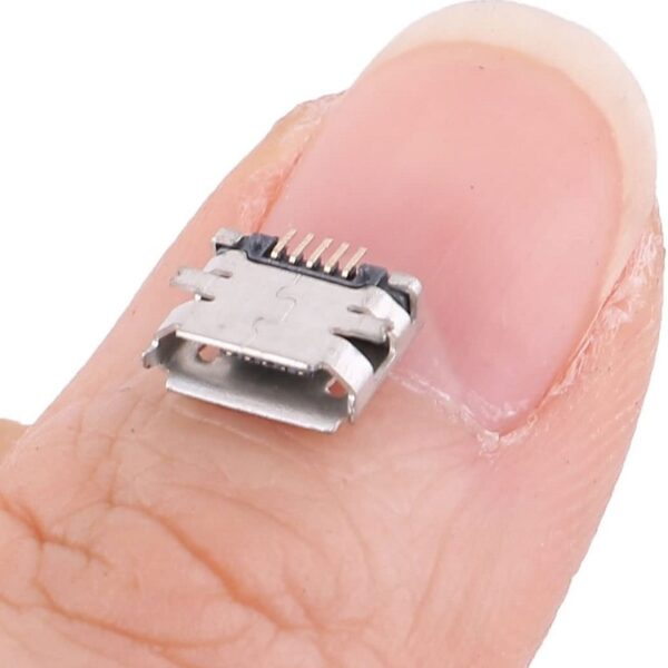 Micro USB 2.0 B type 5 Pin Connector-SMD Sharvielectronics