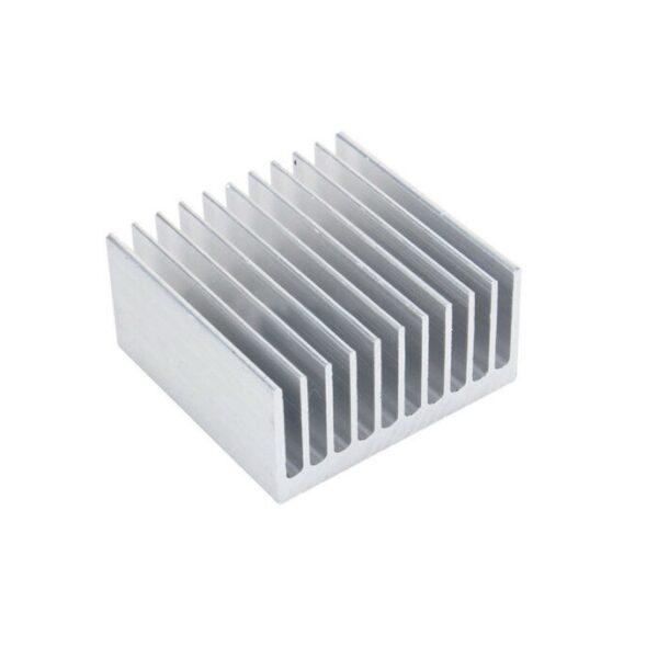 Universal Aluminium Heat Sink for CPU IC (40 x 40 x 20)