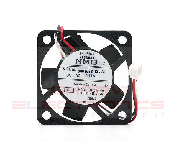 12V DC Cooling Fan 60X60mm (NMB-06015SS-12L-AL) Sharvielectronics