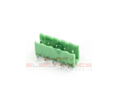 5 Pin Right Angle PCB Mount Male Terminal Block Connector 5.08mm Pitch Sharvielectronics