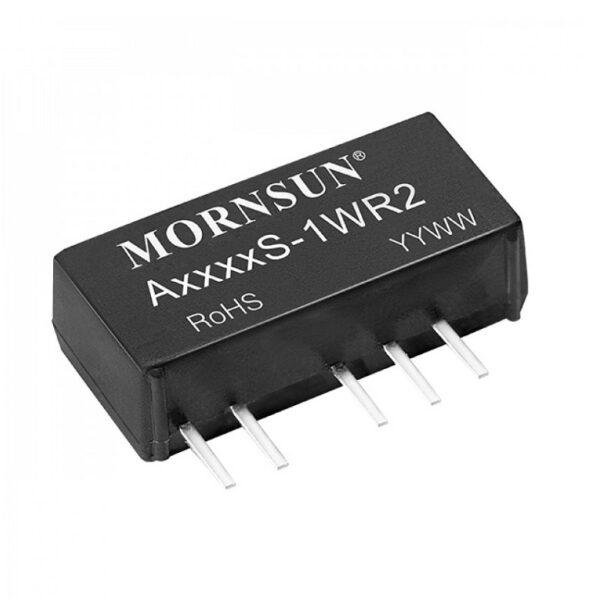 A1212S-1WR2 Mornsun 12V to ±12V DC-DC Converter Sharvielectronics