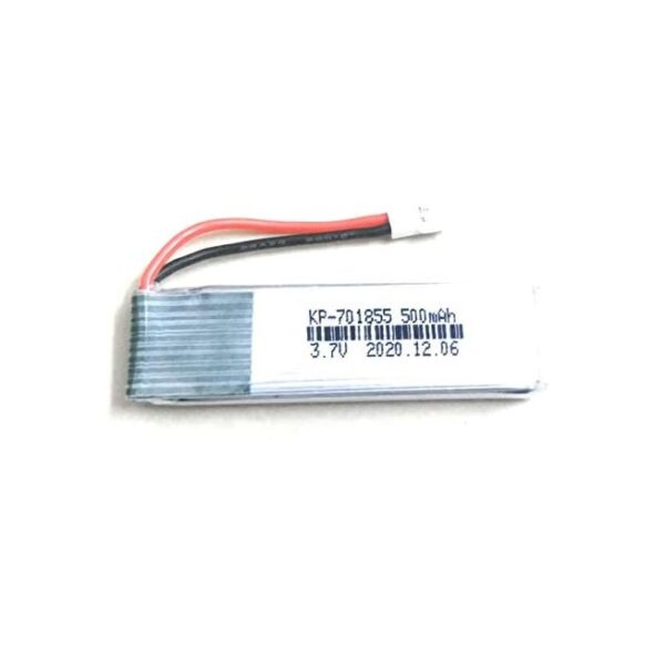 Lipo Rechargeable Battery-3.7V500mAH-KP-701855-For RC Drone Sharvielectronics