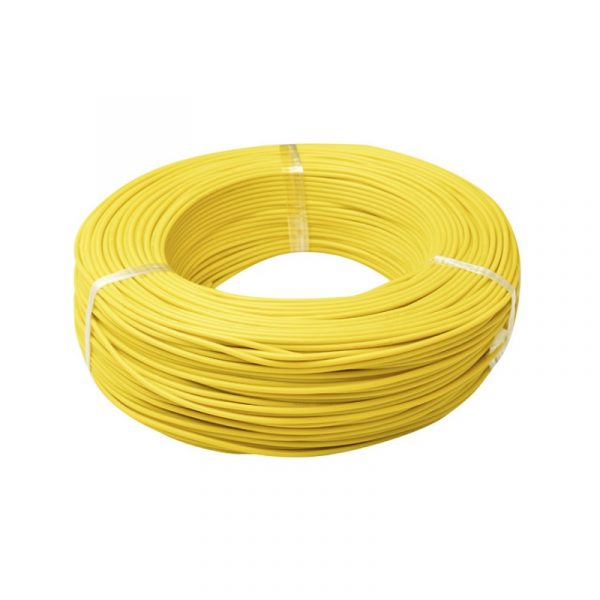 Multistrand Wire Yellow-5 Meters (7 Strands Blue Wire)_Sharvielectronics