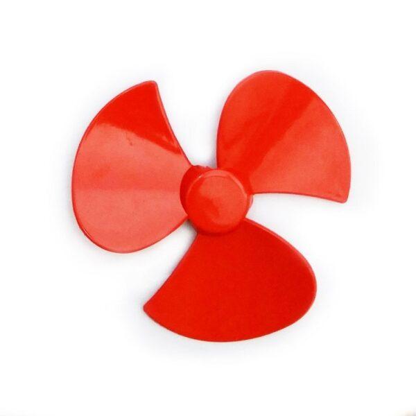 Plastic Fan 1224 Volt Dc Motor- 3 Blade Fan Sharvielectronics