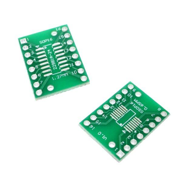 SOP16-SSOP16 Transfer to DIP16 IC Adapter Converter Adapter Plate