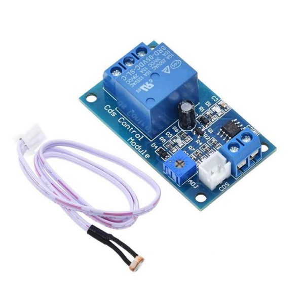 XH-M131 DC 5V Light Control Switch Photoresistor Relay Module-Sharvielectronics
