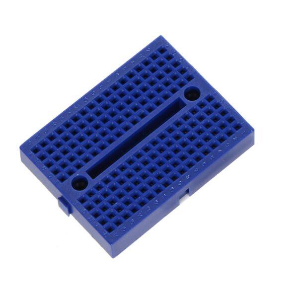 170 Points Mini Breadboard SYB - 170 Blue-Sharvielectronics