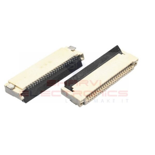 20 Pin FPC FFC SMT Flip Connector-0.5mm Pitch -Sharvielectronics