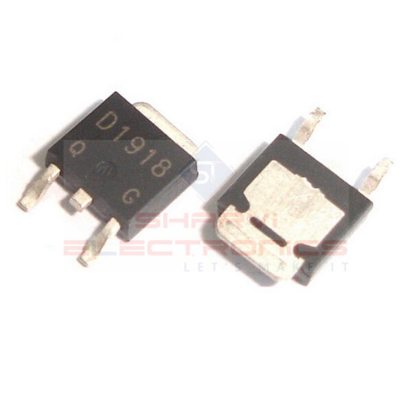 2SD1918 160V 1.5A NPN Power Transistor-Package TO-252 Sharvielectronics