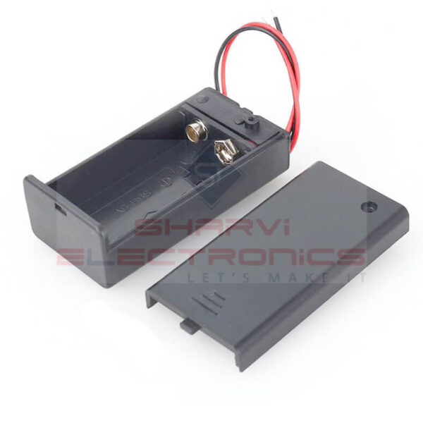 9V Battery Holder With Switch Sharvielectronics