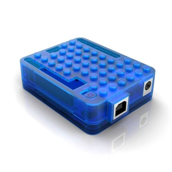 Blue Arduino UNO R3 Injection Molding Case With Bubble_Sharvielectronics