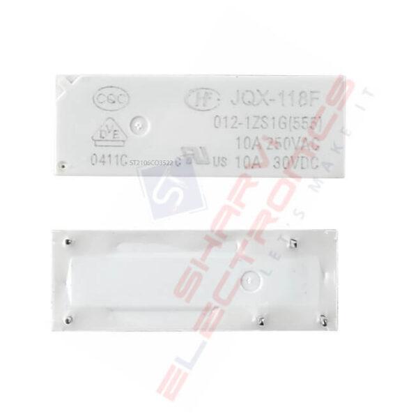 Hongfa JQX-118F-012-1ZS1G 12VDC 10A SPDT Miniature High Power Relay SHarvielectronics