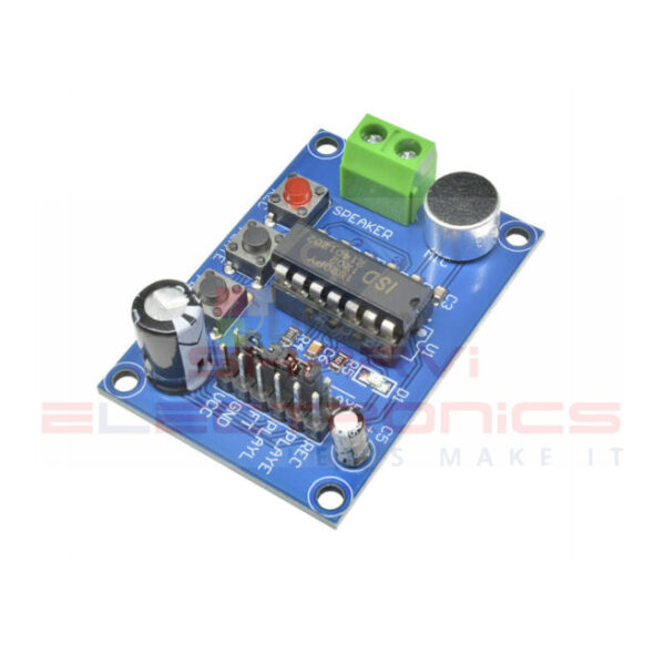 ISD1820 Sound-Voice Board Recording Module Sharvielectronics