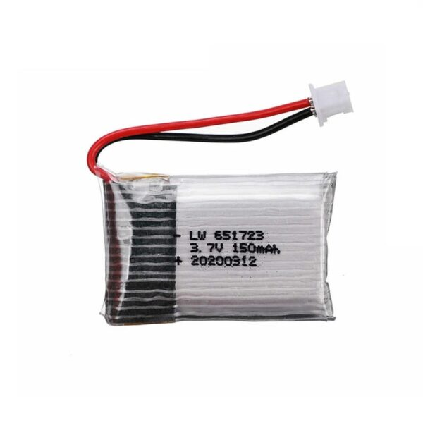 Lipo Rechargeable Battery-3.7V 150mAH-For RC Drone sharvielectronocs.com