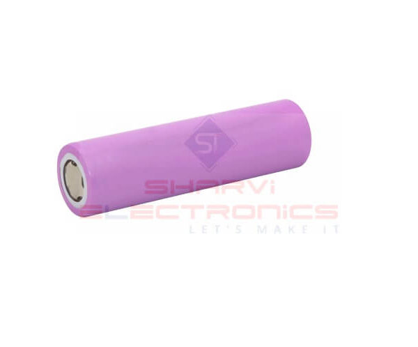 Lithium-ion 18650 3.7V 3000mAh Battery Cell Sharvielectronics