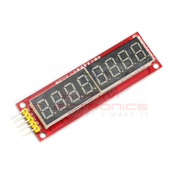 MAX7219 8 Digit Led Tube Display Control Module-Sharvielectronics