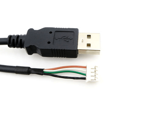 USB A Type Male to JST 4 Pin Female Connector Extension Cable_Sharvielectronics