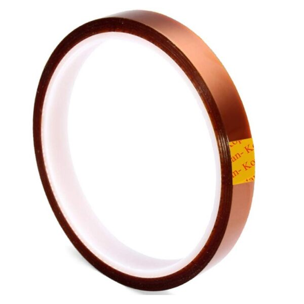 10mm High Temperature Heat Resistant Kapton Tape Polyimide - 30 Meter Roll Sharvielectronics