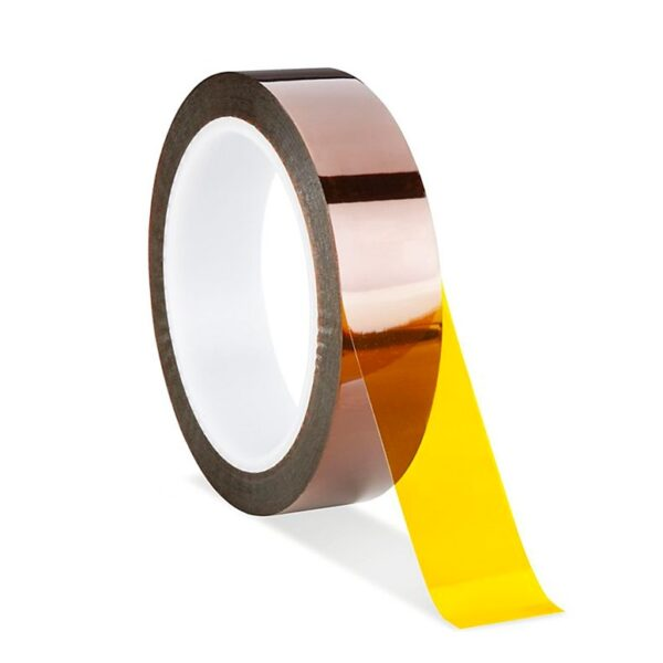 20mm High Temperature Heat Resistant Kapton Tape Polyimide - 30 Meter Roll Sharvielectronics