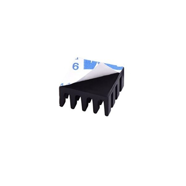 Black Aluminum Heatsink for Raspberry Pi Sharvielectronics