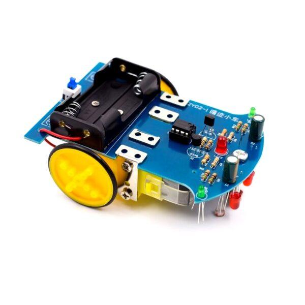 DIY-D2-1-Intelligent-Line-FollowerTracing-Car-Kit