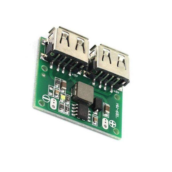 Dual USB Output 9V-12V-24V to 5V 3A DC-DC Car Charging Voltage Stabilizer Module Sharvielectronics