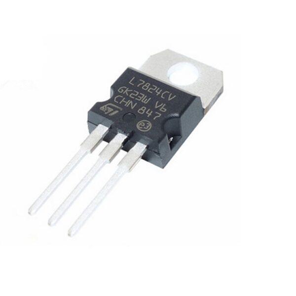 L7824 24V Positive Voltage Regulator - TO-220 Package