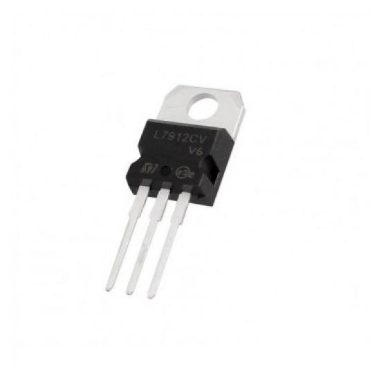 L7912 12V Negative Voltage Regulator - TO-220 Package