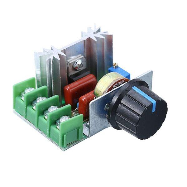 220V 2000W Thyristor Speed Controller SCR Voltage Regulator Sharvielectronics220V 2000W Thyristor Speed Controller SCR Voltage Regulator Sharvielectronics