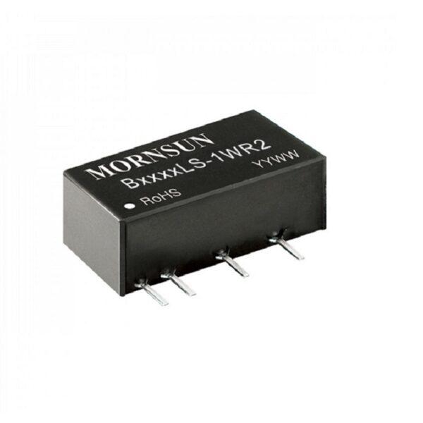 B2405LS-1WR2 Mornsun 24V to 5V DC-DC 1 Watt Converter Power Supply Module - Ultra Compact SIP Package