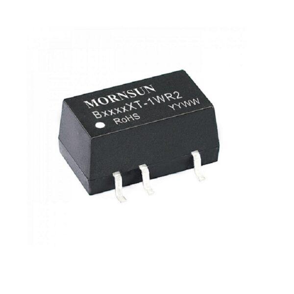 B2424XT-1WR2 Mornsun 24V to 24V DC-DC Converter 1 Watt Power Supply Module - Compact SMD Package