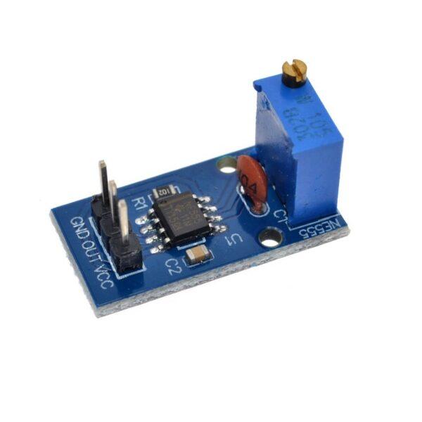 Frequency Adjustable Pulse Generator Module NE555_-Sharvielectronics