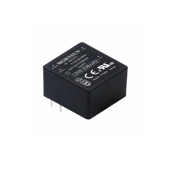 LD05-23B05R2 Mornsun 5V 1A 5 Watt AC to DC Converter Power Supply Sharvielectronics