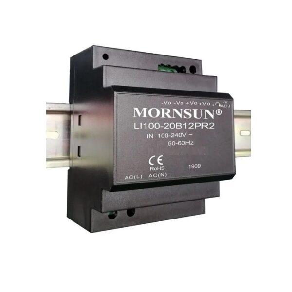 LI100-20B24PR2 Mornsun SMPS - 24V 4.2A 100.8W AC/DC DIN Rail Power Supply