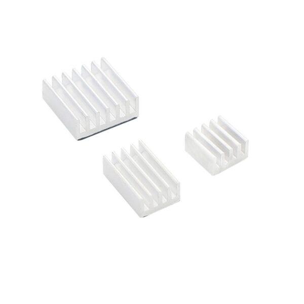 Raspberry Pi Aluminium Heat Sink – 3 Set Sharvielectronics